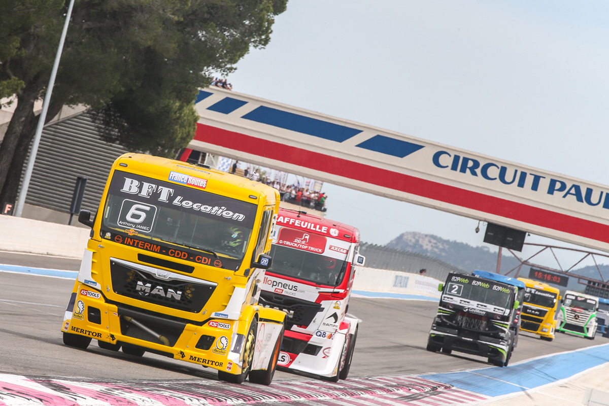 Le Castellet Circuit : French trucks championship official website 2018 le castellet